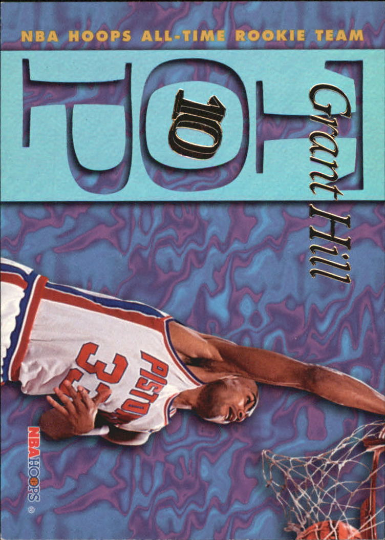 1995-96 Hoops Top Ten #AR2 Grant Hill