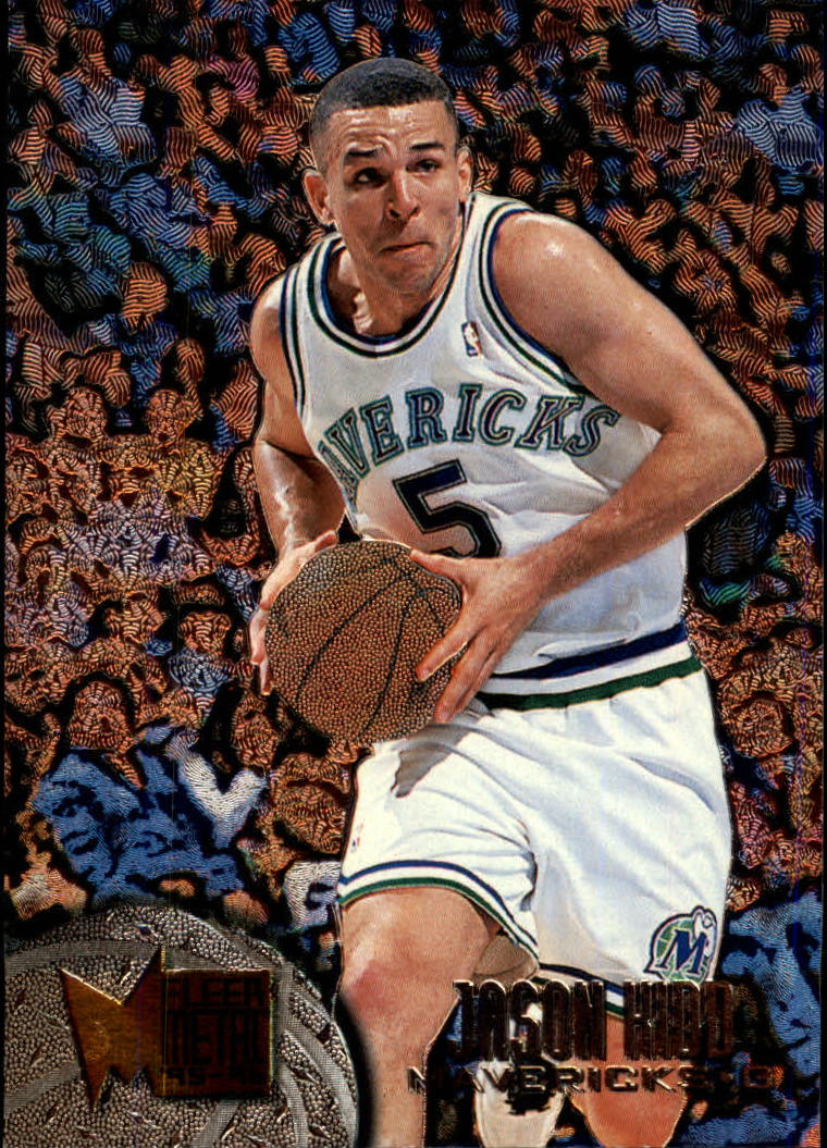 1995-96 Metal #22 Jason Kidd