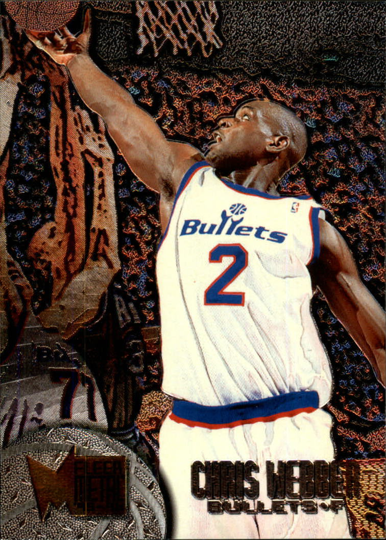 1995-96 Metal #118 Chris Webber