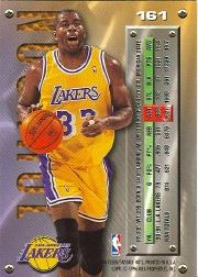 1995-96 Metal #161 Magic Johnson back image