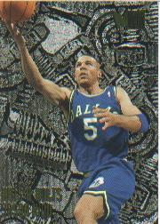 1995-96 Metal #213 Jason Kidd NB