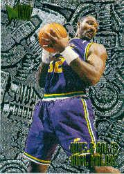 1995-96 Metal #214 Karl Malone NB