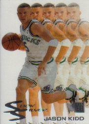 1995-96 Metal Slick Silver #4 Jason Kidd