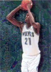 1995-96 Metal Tempered Steel #4 Kevin Garnett