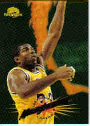 1995-96 SkyBox Premium #301 Magic Johnson