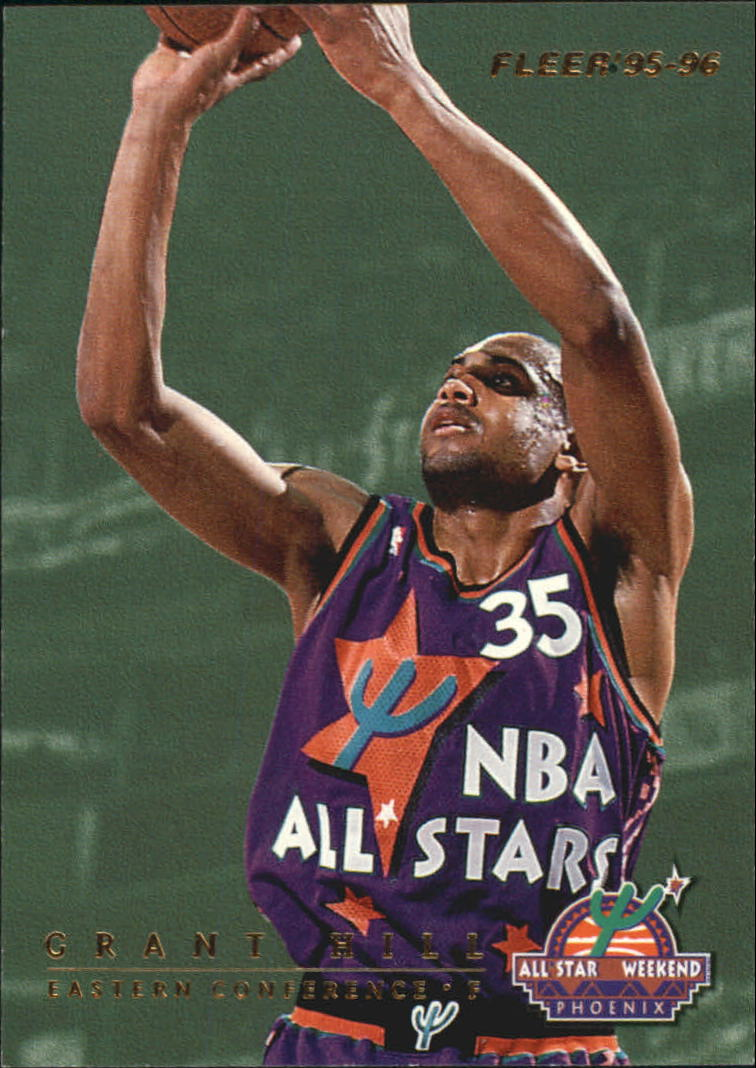 1995-96 Fleer All-Stars #1 Grant Hill/Charles Barkley