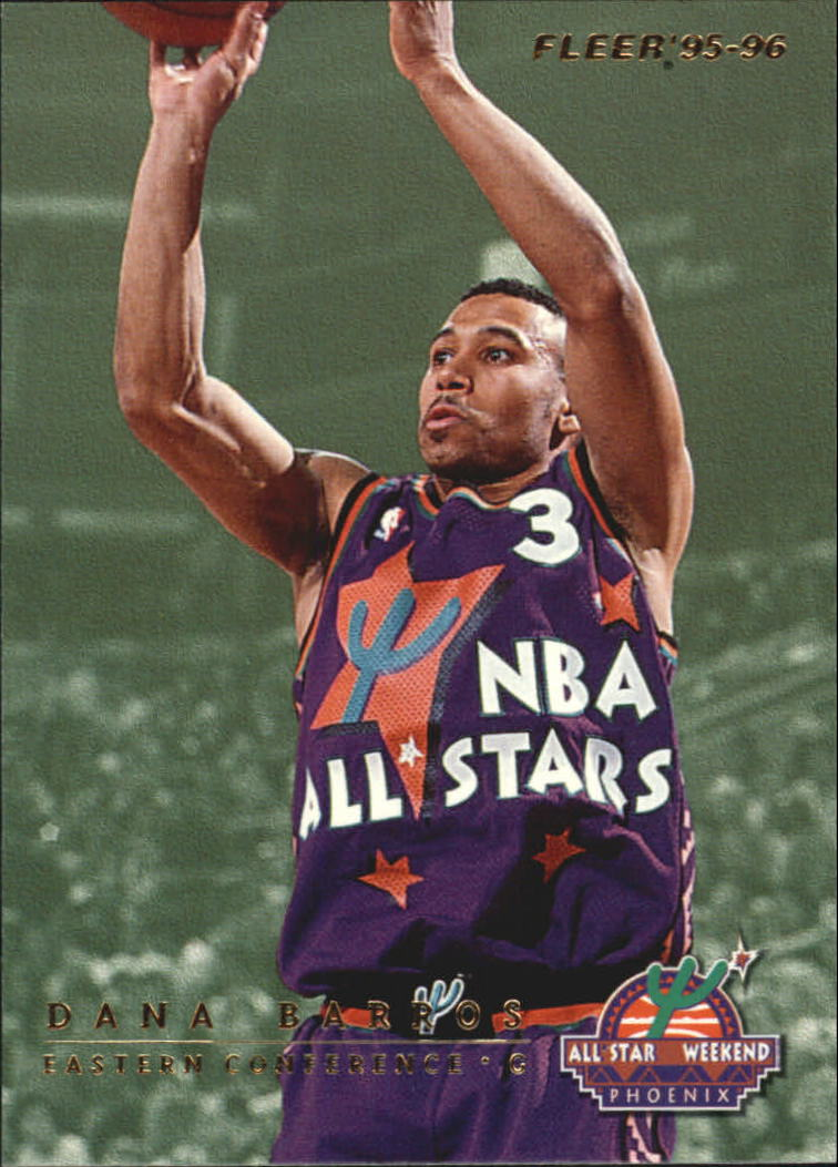 1995-96 Fleer All-Stars #11 Dana Barros/Gary Payton