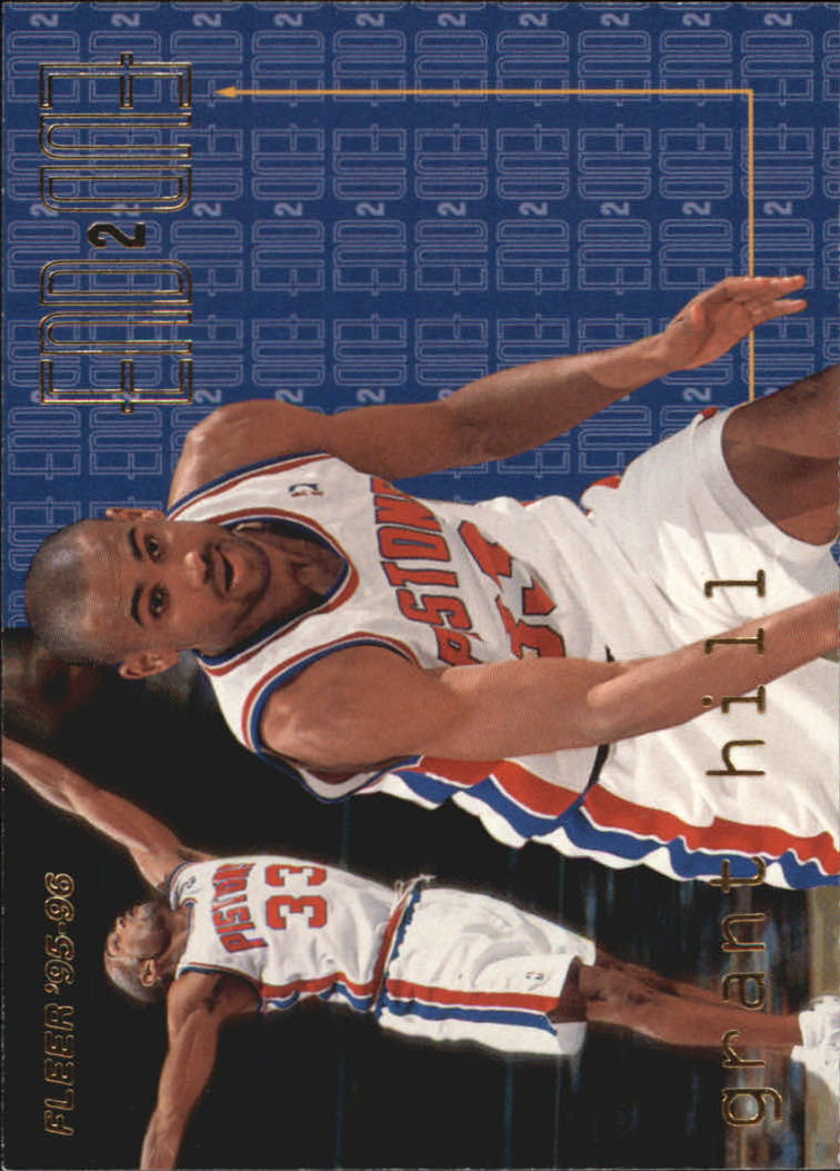 1995-96 Fleer End to End #7 Grant Hill