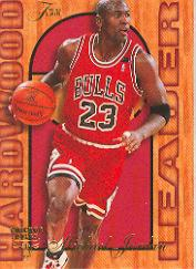 1995-96 Fleer Flair Hardwood Leaders #4 Michael Jordan