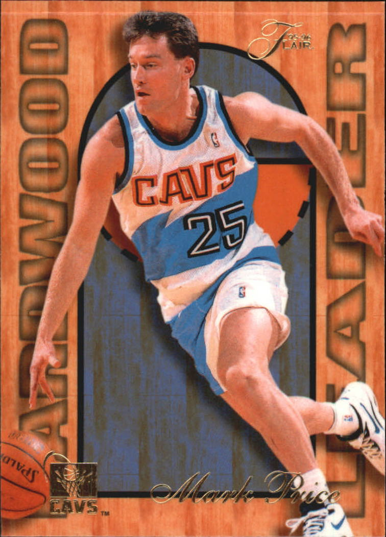 1995-96 Fleer Flair Hardwood Leaders #5 Mark Price