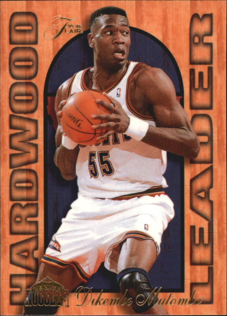 1995-96 Fleer Flair Hardwood Leaders #7 Dikembe Mutombo