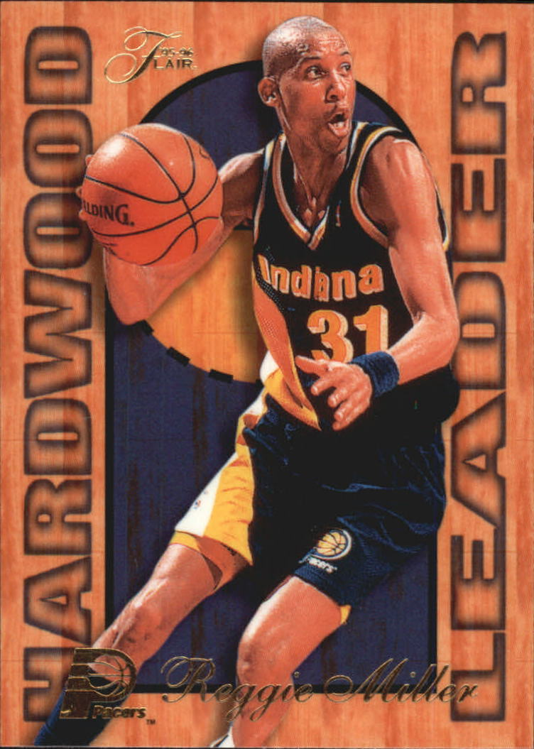 1995-96 Fleer Flair Hardwood Leaders #11 Reggie Miller