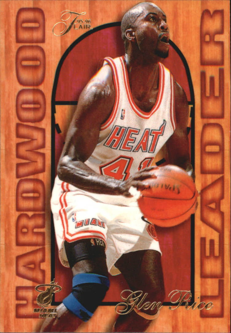 1995-96 Fleer Flair Hardwood Leaders #14 Glen Rice