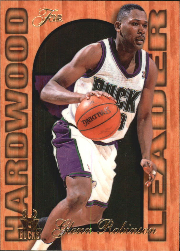 1995-96 Fleer Flair Hardwood Leaders #15 Glenn Robinson