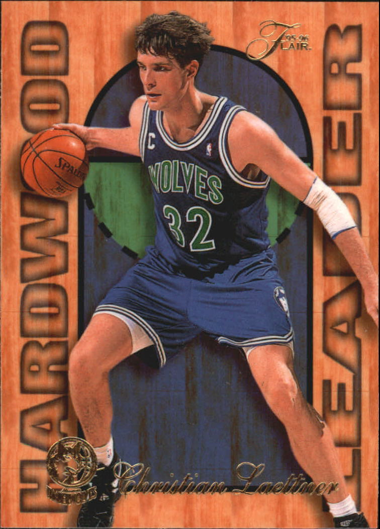 1995-96 Fleer Flair Hardwood Leaders #16 Christian Laettner