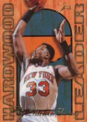 1995-96 Fleer Flair Hardwood Leaders #18 Patrick Ewing