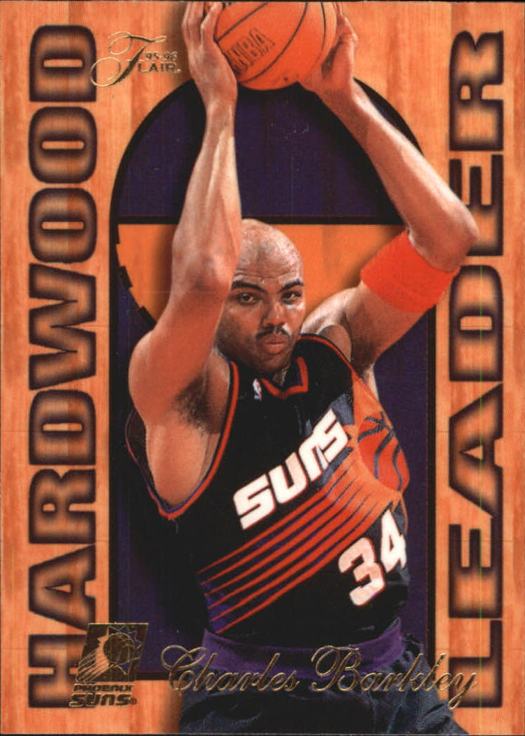 1995-96 Fleer Flair Hardwood Leaders #21 Charles Barkley