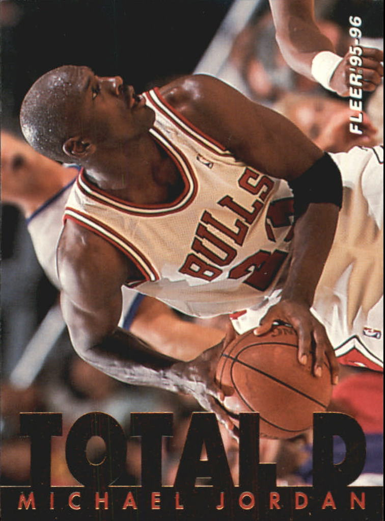 1995-96 Fleer Total D #3 Michael Jordan
