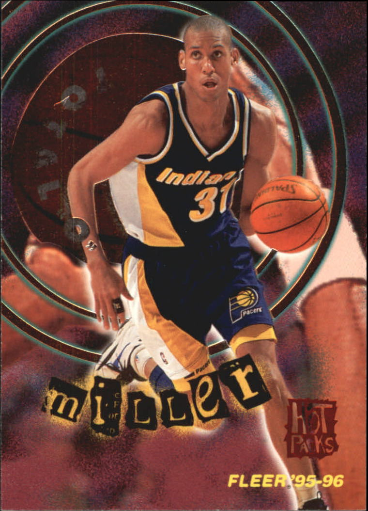 1995-96 Fleer Total O Hot Pack #4 Reggie Miller