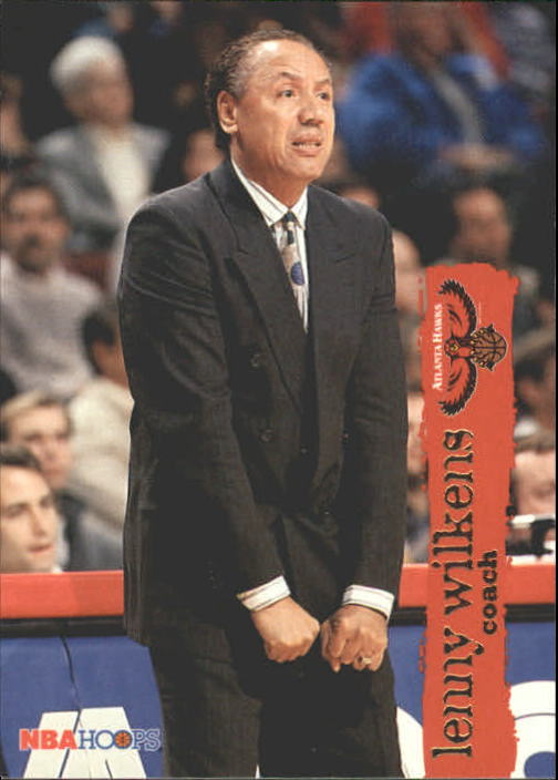1995-96 Hoops #171 Lenny Wilkens CO