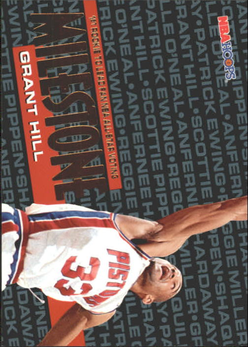 1995-96 Hoops #211 Grant Hill MS