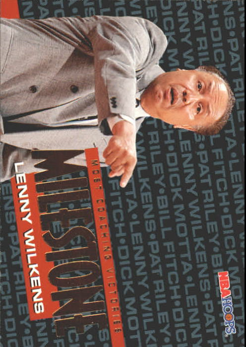 1995-96 Hoops #216 Lenny Wilkens MS