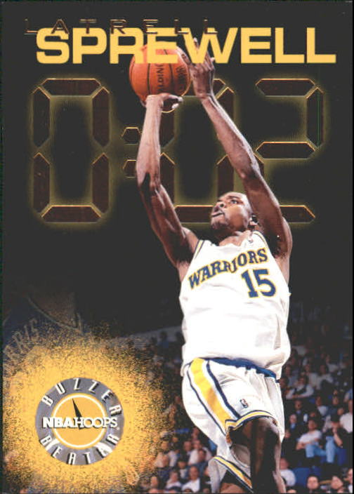 1995-96 Hoops #226 Latrell Sprewell BB