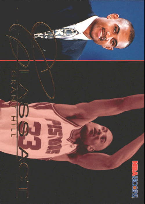1995-96 Hoops #237 Grant Hill CA