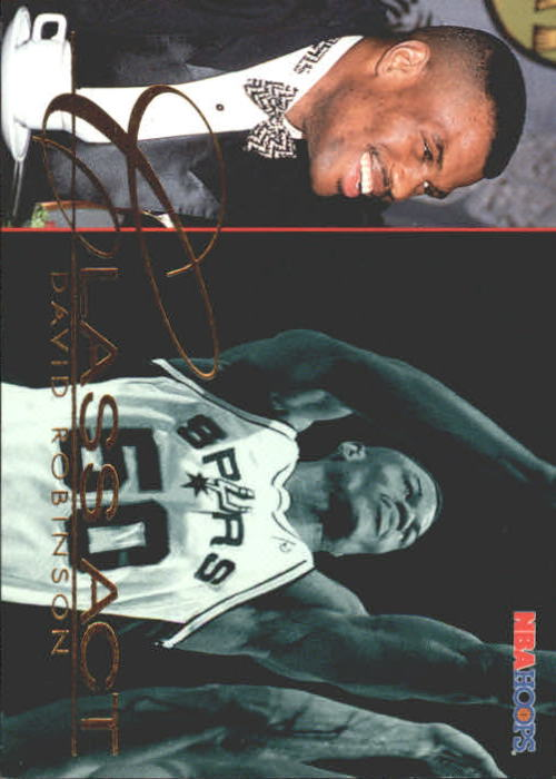 1995-96 Hoops #242 David Robinson CA