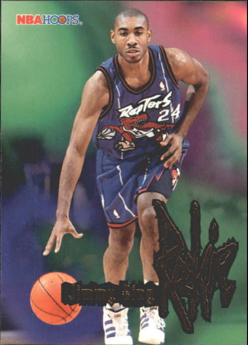 1995-96 Hoops #285 Jimmy King RC