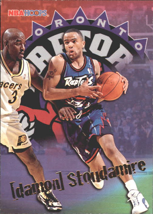 1995-96 Hoops #347 Damon Stoudamire ET