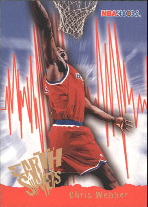 1995-96 Hoops #372 Chris Webber ES