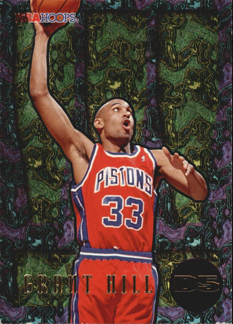 1995-96 Hoops Grant Hill Dunks/Slams #D5 Grant Hill/!!!-Card