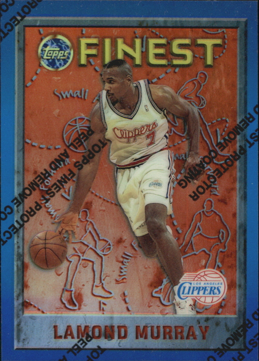 1995-96 Finest Refractors #6 Lamond Murray