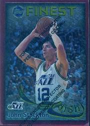 1995-96 Finest Dish and Swish #DS27 John Stockton/Karl Malone