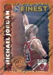 1995-96 Finest Hot Stuff #HS1 Michael Jordan