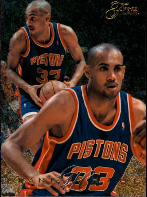 1995-96 Flair #37 Grant Hill