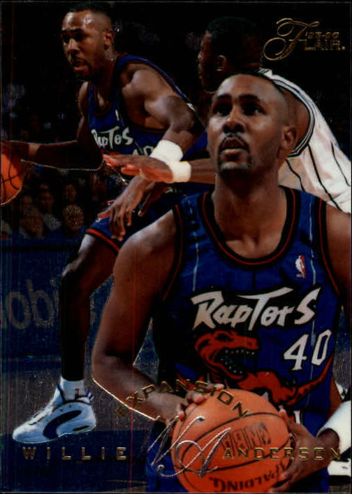 1995-96 Flair #193 Willie Anderson EXP
