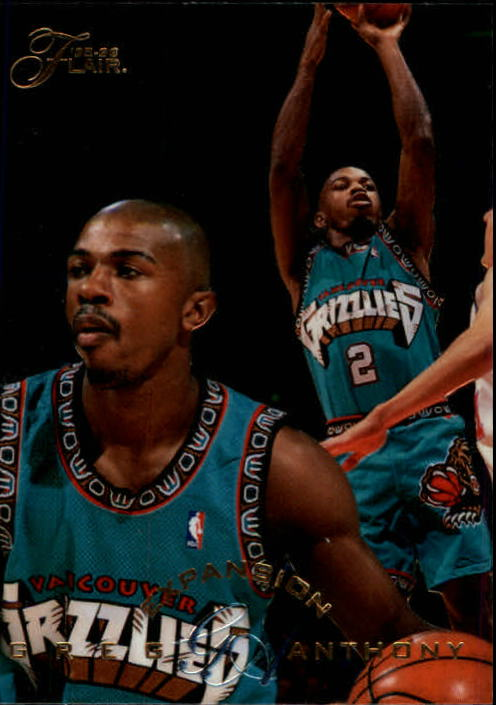1995-96 Flair #196 Greg Anthony EXP