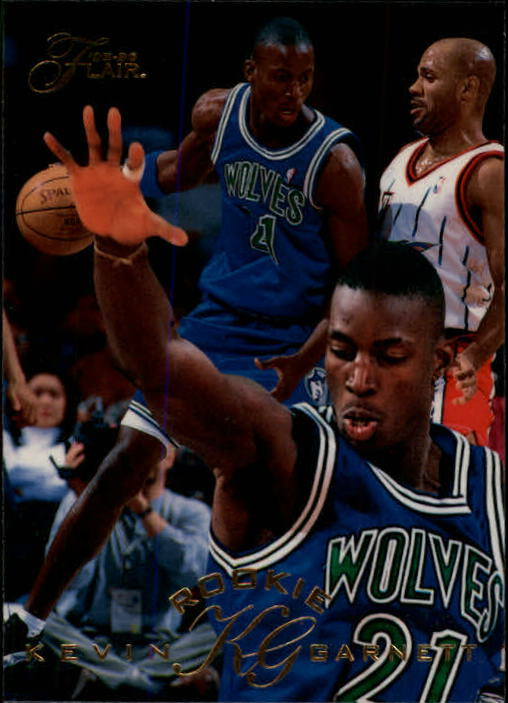1995-96 Flair #206 Kevin Garnett RC