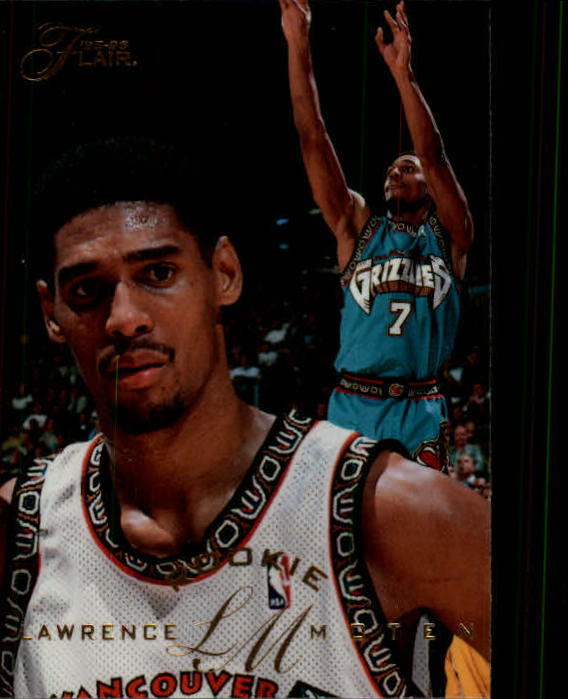 1995-96 Flair #210 Lawrence Moten RC