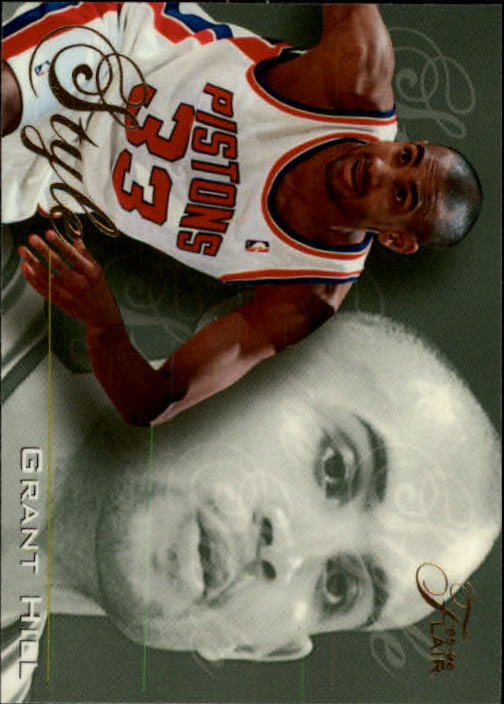 1995-96 Flair #233 Grant Hill STY