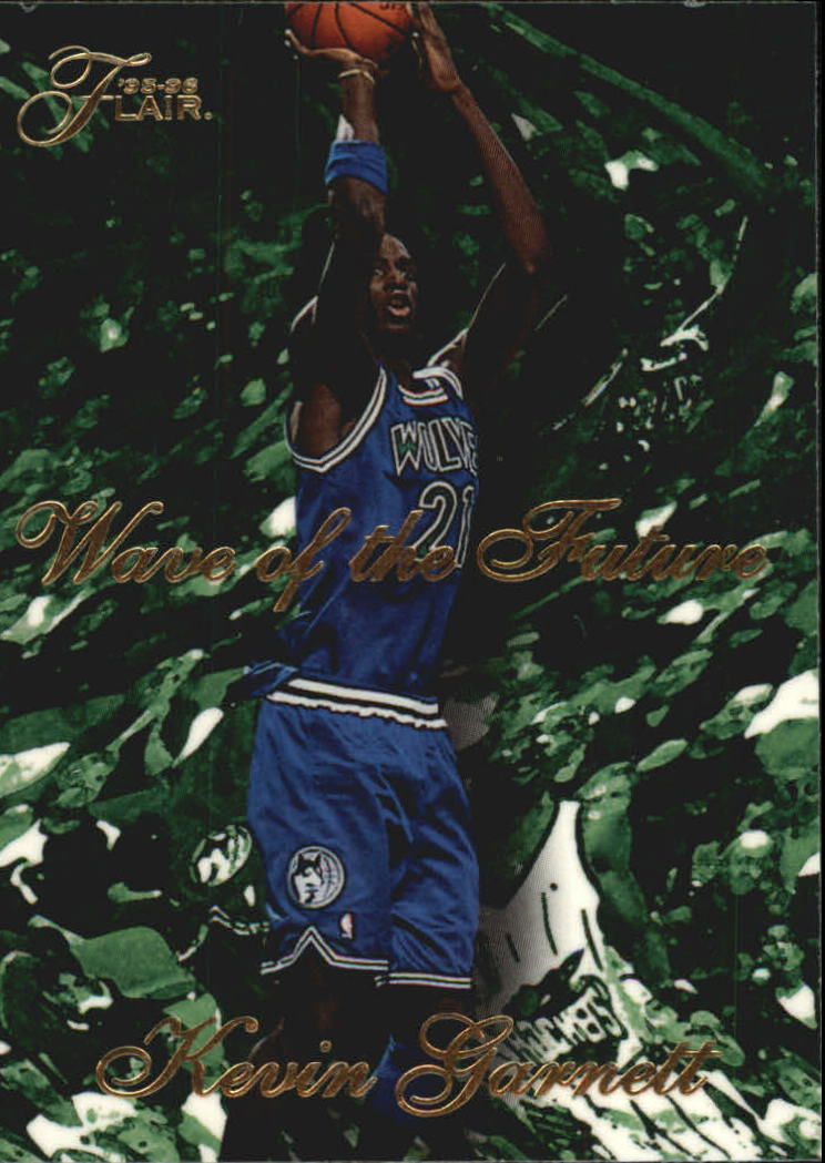 1995-96 Flair Wave of the Future #3 Kevin Garnett