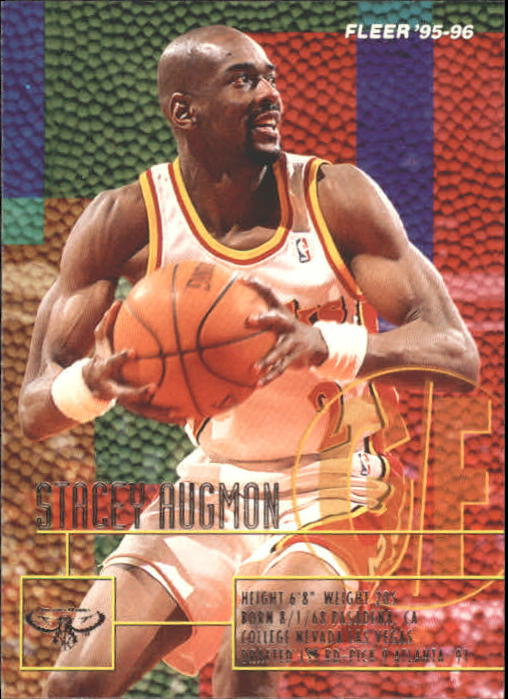 1995-96 Fleer #1 Stacey Augmon