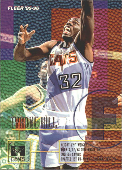 1995-96 Fleer #28 Tyrone Hill