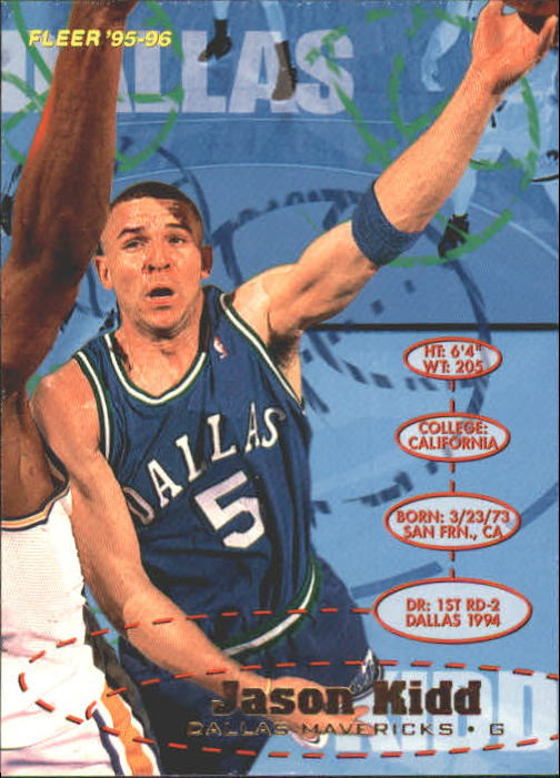 1995-96 Fleer #36 Jason Kidd