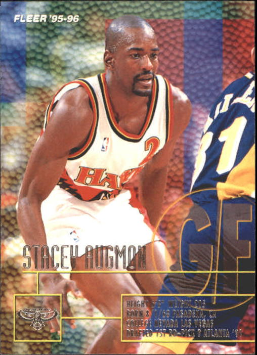 1995-96 Fleer #201 Stacey Augmon