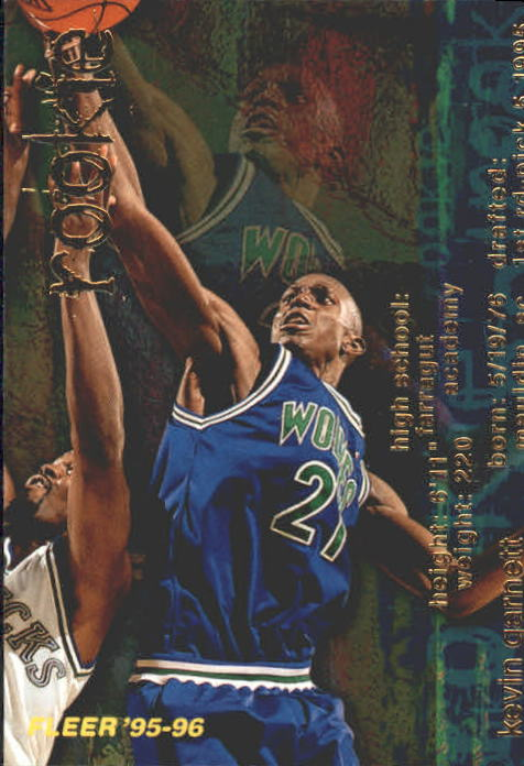 1995-96 Fleer #293 Kevin Garnett RC