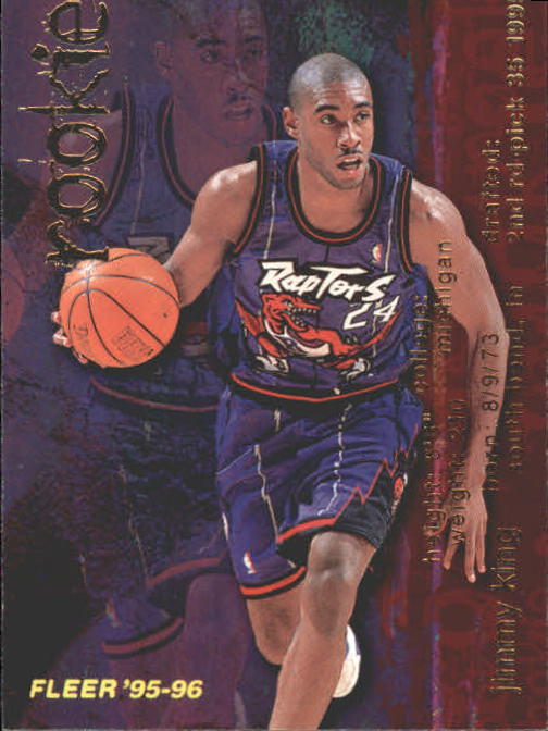 1995-96 Fleer #296 Jimmy King RC
