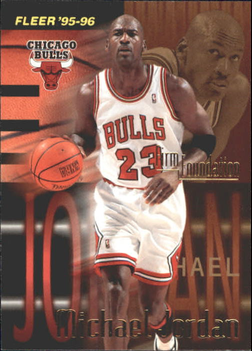 1995-96 Fleer #323 Michael Jordan FF